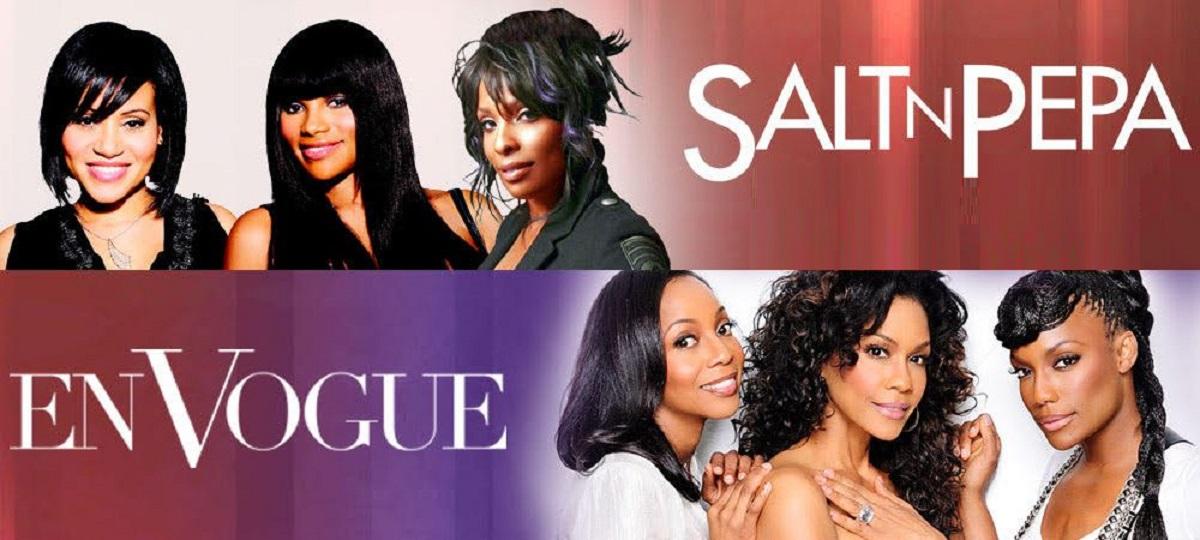 Salt n Pepa with En Vogue